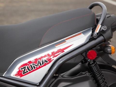 2008~2015 Yamaha Bws125 USDM ZUMA125 Caution Label Grab Bar