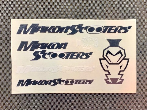 Makoa Scooters Sticker Set