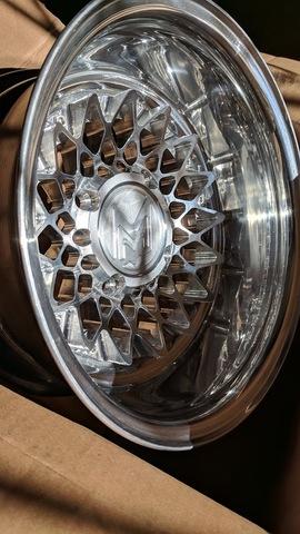 Machined Machines Billet Wide Wheel 2-Piece B-Type
