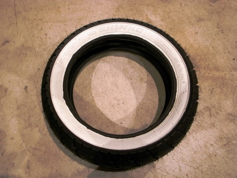 SHINKO SR723 120/70-12 WHITE WALL