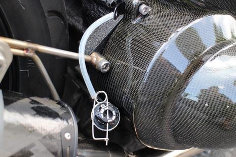 PSR Aruminum Oil Filler Cap Honda Black