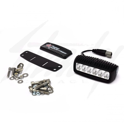 Rigid Honda Ruckus Headlight Kit - Q2 6-LED Light