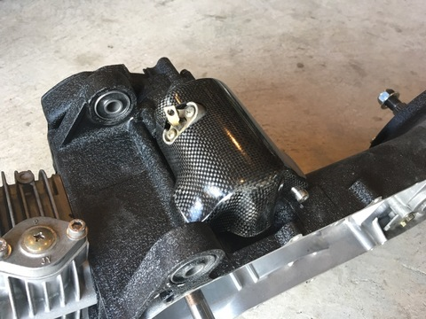 DROWsports Carbon Fiber Starter Motor Cover GY6
