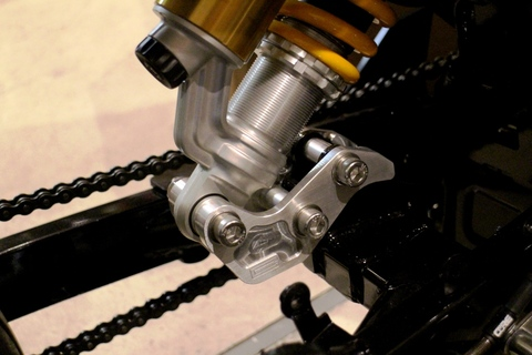 "ComposiMo Billet Low Down Linkage 6.5"" Down GROM/MSX125"