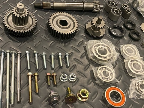 SCR_WORKS GY6 Donor Parts Kit for Taida232cc