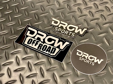 DROW Sports Sticker Pack