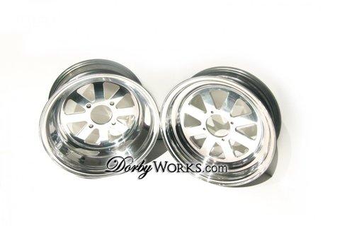 DorbyWORKA DW8S 12X4 / 12x8 SET honda ruckus wheels