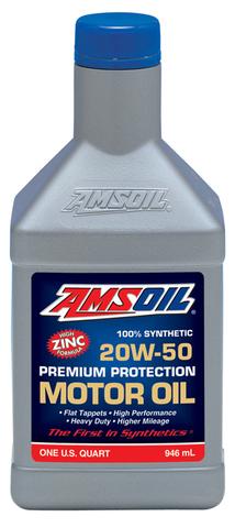 AMSOIL (20W-50)プレミアムプロテクションモーターオイル