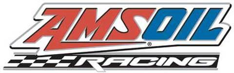 AMSOIL RACING ロゴ ステッカー(Mサイズ)
