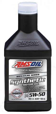 AMSOIL 5W-50 シグネチャーシリーズ100%シンセティックモーターオイル