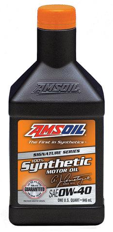 AMSOIL 0W-40 シグネチャーシリーズ100%シンセティックモーターオイル