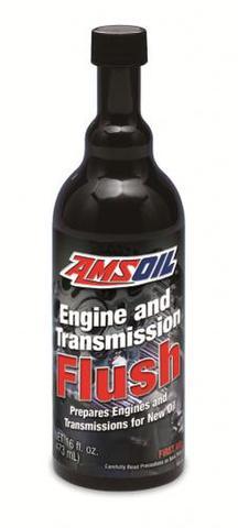 AMSOIL エンジン&トランスミッション フラッシュ(FLSH CN)