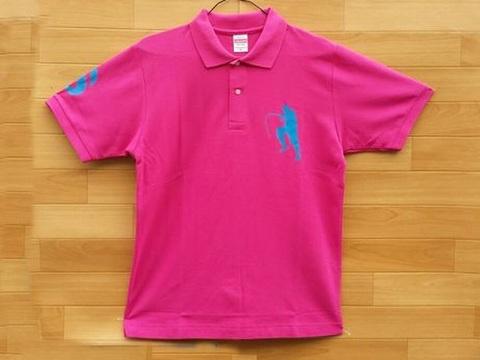 2016オリジナルポロシャツ ピンク