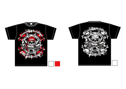 LUTADOR FIGHT×SECRET BASE『10周年』Tシャツ