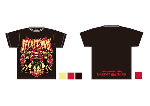 KENTOO×SECRET BASE『10周年』Tシャツ