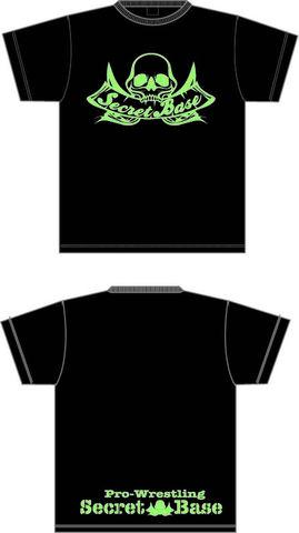 SECRET BASE 蓄光ロゴ Tシャツ