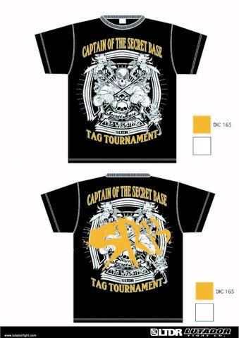 初代タッグ王座決定トーナメントTシャツ(オレンジ)