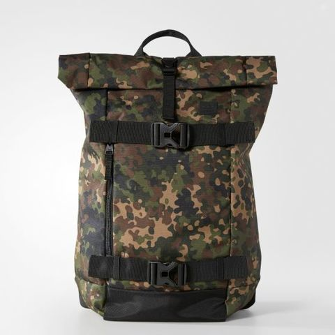 adidas Origionals AS Skateboard Backpack(Camo/Black)