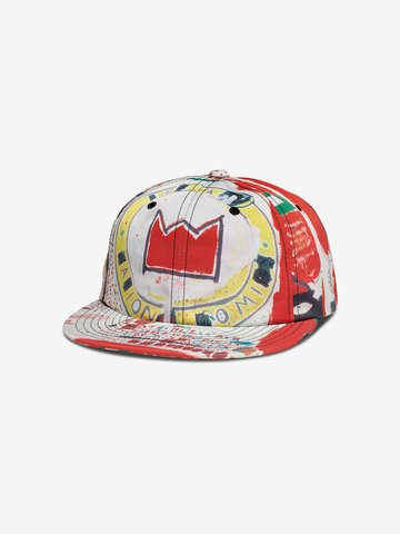 Diamond Supply Co. X BASQUIAT CROWN UNSTRUCTURED STRAPBACK