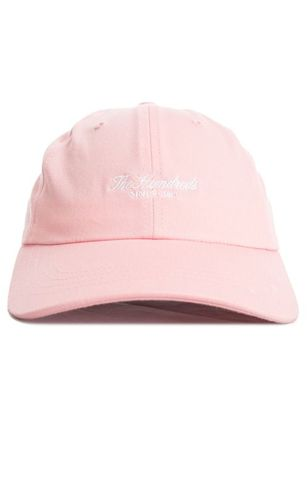 THE HUNDREDS SCRIPT DAD HAT PINK