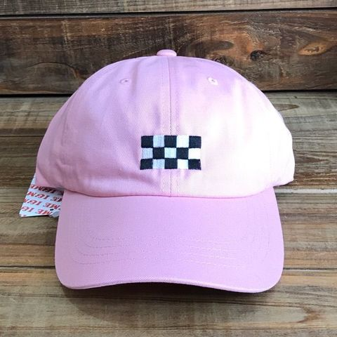 I&ME CHECKER CAP PINK