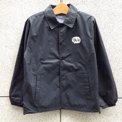 【完売中】seek:let LOGO COACH JACKET 5色展開