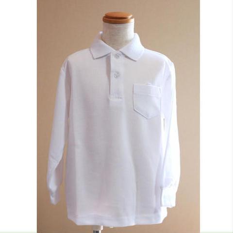 ポロシャツ【 長袖】(男女共通) SIZE : 110〜170