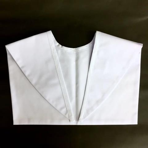 新池中学校 いしはらオリジナルセーラー服用 白襟カバー