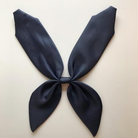 佐野中学校 オリジナルセーラー服用 紺リボン