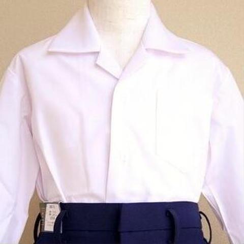 【特価】小学校制服 男子【長袖】開襟シャツ SIZE : 160A / 170A / 130B~170B