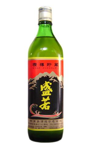 本格焼酎 盛若 『樫樽貯蔵』 700ml (箱なし) 【神津島酒造】