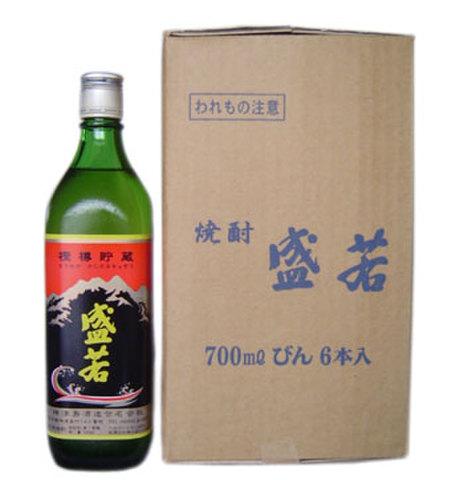 本格焼酎 盛若 『樫樽貯蔵』 700ml 6本入り 【神津島酒造】