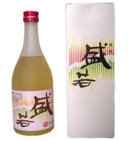 盛若 『赤』 500ml 箱入り 【神津島酒造】