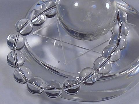 国産最上級水晶念珠