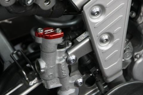 ZETA リヤリザーバーカバー セロー250/トリッカー/XT250X
