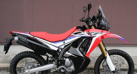 SPIRAL ステップシート(完成品)RED CRF250L/M/RALLY SP406R
