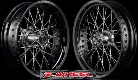 Z-WHEEL AR1モタードホイールキット Dトラッカー/DトラッカーX/KLX250