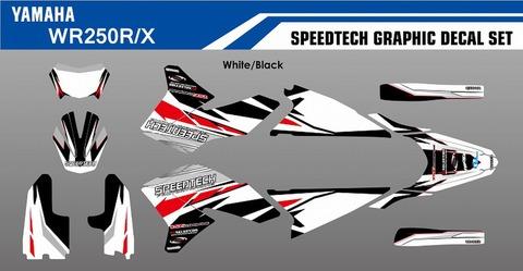 SPEEDTECH グラフィックデカールキット WR250R/X