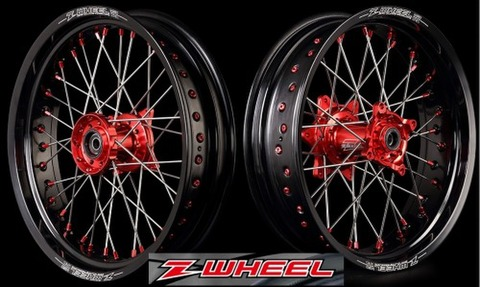 Z-WHEEL AR1モタードホイールキット(17インチ)CRF250L/M/RALLY