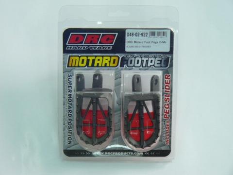 DRC モタードワイドフットペグ Dトラッカー(X)&KLX250