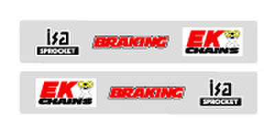 FX スイングアームデカール EK/ブレーキング/ISA