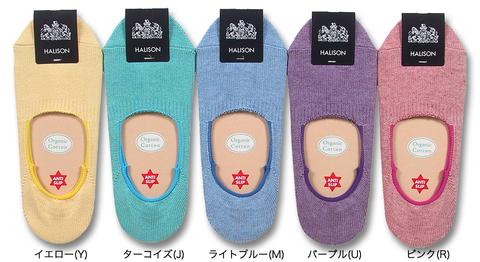 HALISON(ハリソン)スリッポンソックス HALISON-No.614270