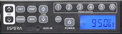 ESPERIA AUX付きAM/ワイドFMステレオチューナー  KRH-M99W