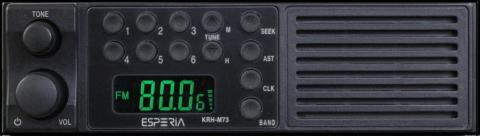 ESPERIA スピーカー内蔵AM/ワイドFMチューナー KRH-M73N
