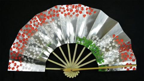 (340)銀地に桜