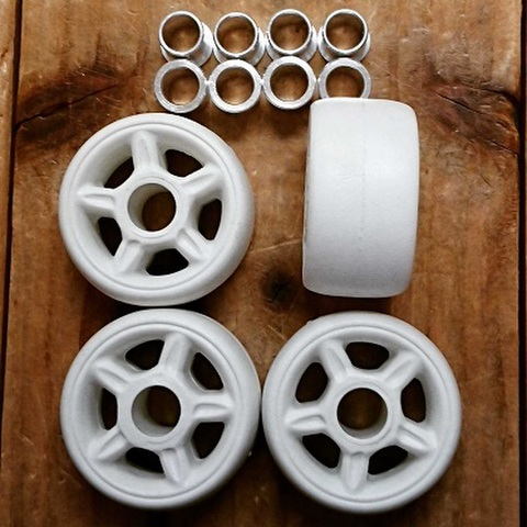 RAZORS/ANTI Wheels/WHITE/42mm/4pc