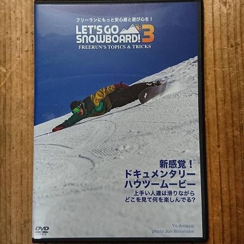 Let's Go Snowboard 3 DVD