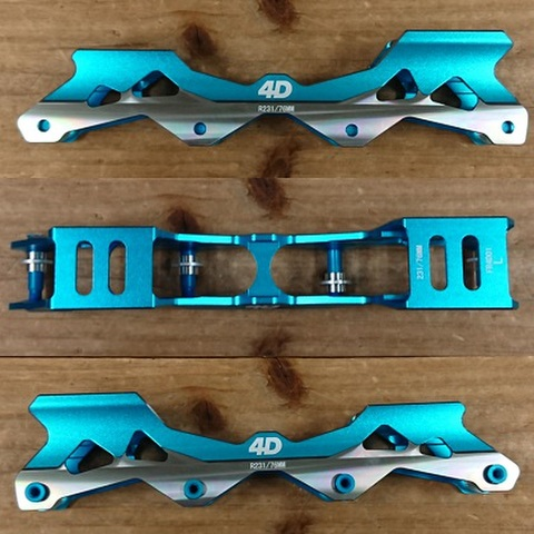 FR(エフアール)/4D Frame Rocker/Blue/231mm