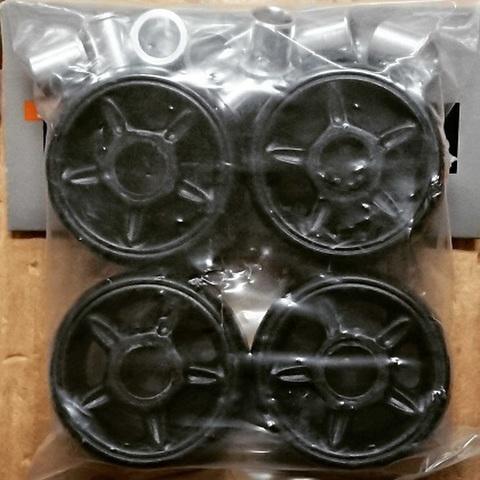 RAZORS/ANTI Wheels/BLACK/42mm/4pc
