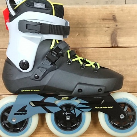 ROLLERBLADE(ローラーブレード)/2021/TWISTER EDGE 110 3WD EDITION#4/BK-GYBL